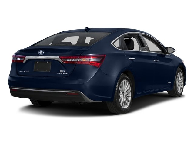 2016 Toyota Avalon Hybrid Prices and Values Sedan 4D Limited I4 Hybrid side rear view