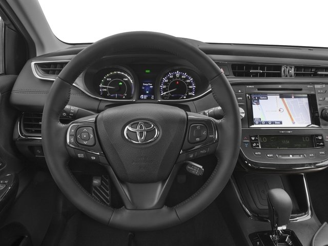 2016 Toyota Avalon Hybrid Prices and Values Sedan 4D Limited I4 Hybrid driver's dashboard