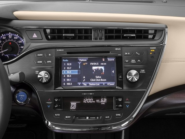 2016 Toyota Avalon Hybrid Prices And Values Sedan 4d Xle Premium I4 Stereo System