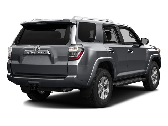 2016 Toyota 4Runner Pictures 4Runner Utility 4D SR5 2WD V6 photos side rear view
