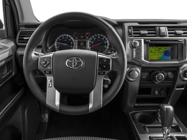 2016 Toyota 4Runner Prices and Values Utility 4D SR5 4WD V6 driver's dashboard