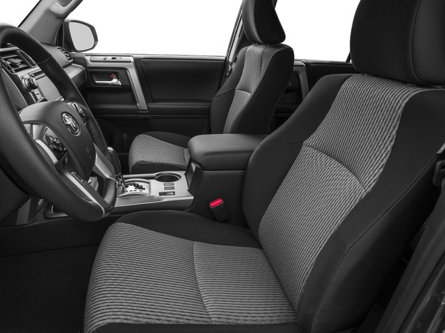2016 Toyota 4Runner Prices and Values Utility 4D SR5 4WD V6 front seat interior
