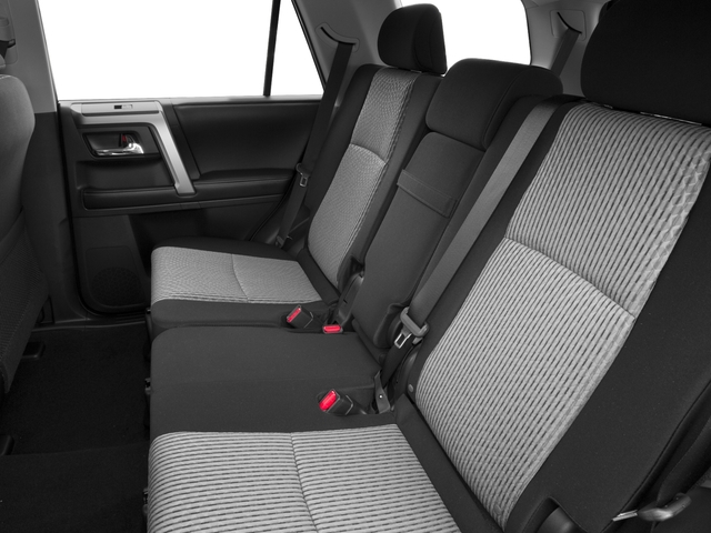2016 Toyota 4Runner Pictures 4Runner Utility 4D SR5 2WD V6 photos backseat interior