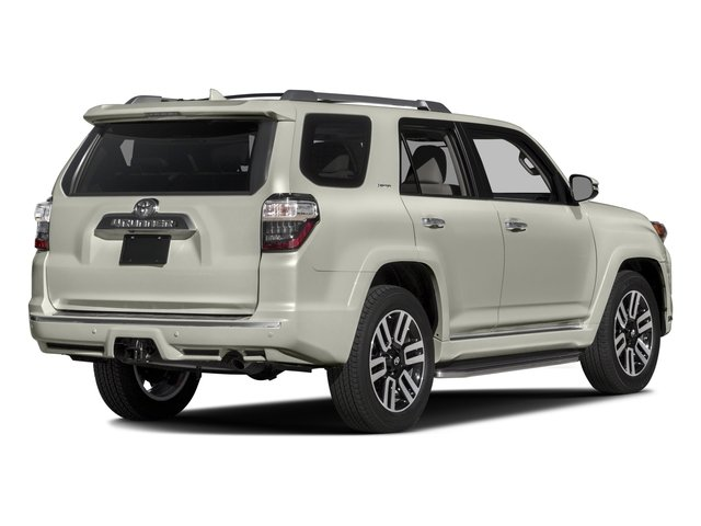 2016 Toyota 4Runner Prices and Values Utility 4D Limited 2WD V6 side rear view