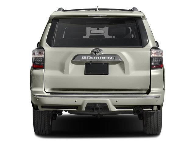 2016 Toyota 4Runner Prices and Values Utility 4D Limited 2WD V6 rear view
