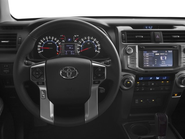 2016 Toyota 4Runner Prices and Values Utility 4D Limited 2WD V6 driver's dashboard