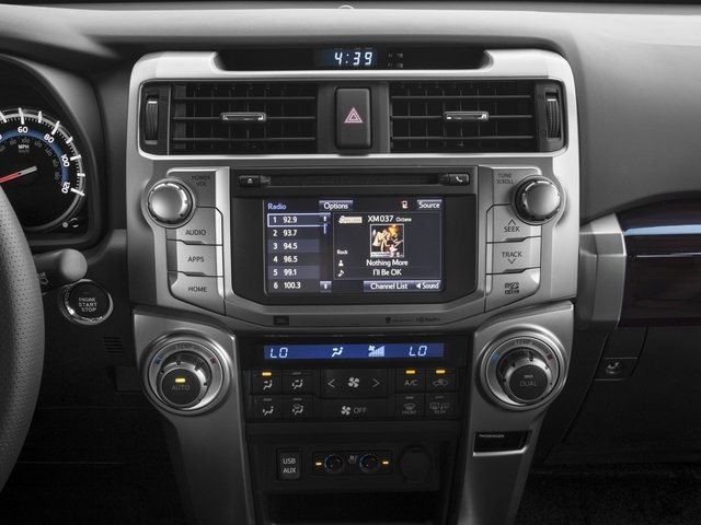 2016 Toyota 4Runner Prices and Values Utility 4D Limited 2WD V6 stereo system