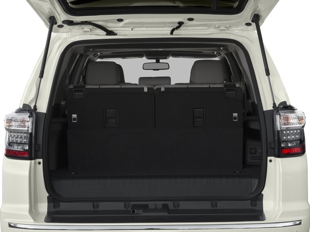 2016 Toyota 4Runner Prices and Values Utility 4D Limited 2WD V6 open trunk