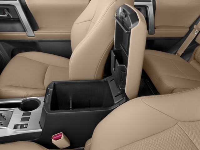 2016 Toyota 4Runner Prices and Values Utility 4D Limited 2WD V6 center storage console