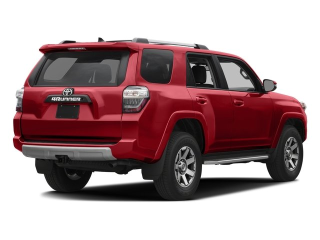 2016 Toyota 4Runner Prices and Values Utility 4D Trail Edition 4WD V6 side rear view