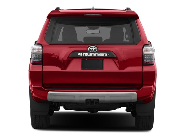 2016 Toyota 4Runner Prices and Values Utility 4D Trail Edition 4WD V6 rear view