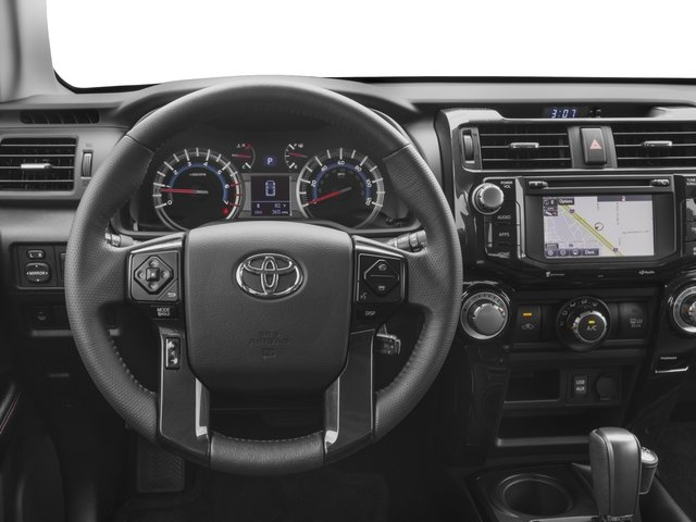 2016 Toyota 4Runner Prices and Values Utility 4D Trail Edition 4WD V6 driver's dashboard