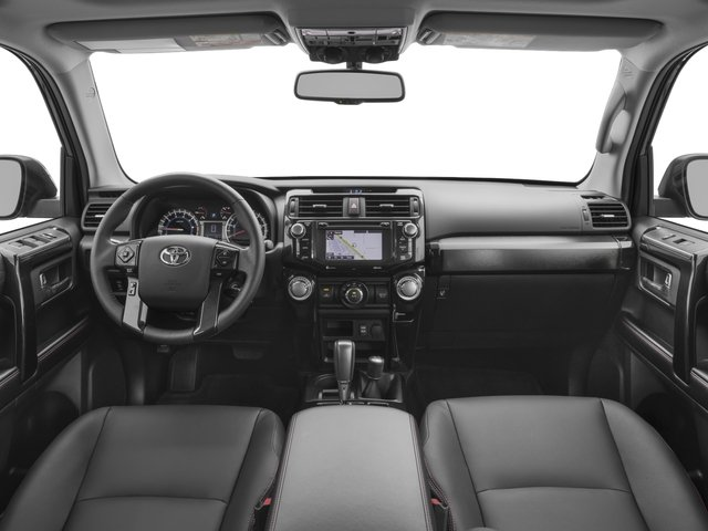 2016 Toyota 4Runner Prices and Values Utility 4D Trail Edition 4WD V6 full dashboard