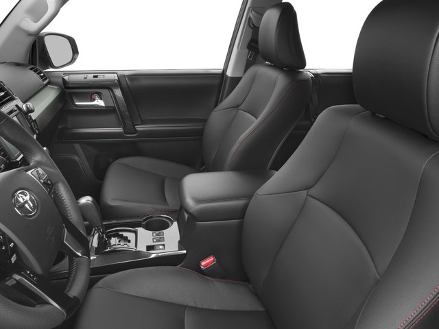 2016 Toyota 4Runner Prices and Values Utility 4D Trail Edition 4WD V6 front seat interior
