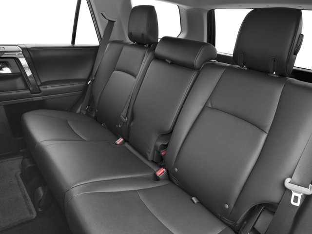 2016 Toyota 4Runner Prices and Values Utility 4D Trail Edition 4WD V6 backseat interior