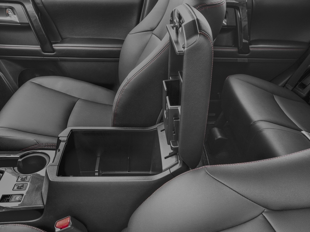 2016 Toyota 4Runner Prices and Values Utility 4D Trail Edition 4WD V6 center storage console