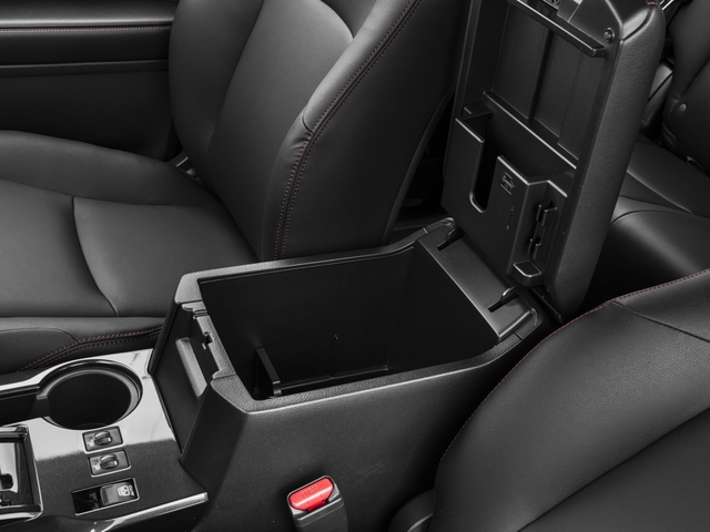 2016 Toyota 4Runner Pictures 4Runner Utility 4D TRD Pro 4WD V6 photos center storage console