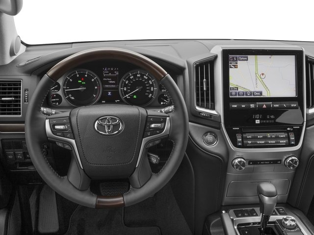 2016 Toyota Land Cruiser Pictures Land Cruiser Utility 4D 4WD V8 photos driver's dashboard