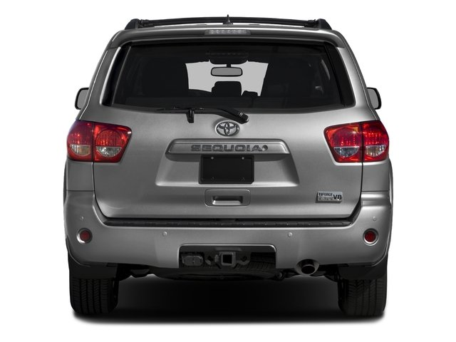 2016 Toyota Sequoia Prices and Values Utility 4D SR5 2WD V8 rear view