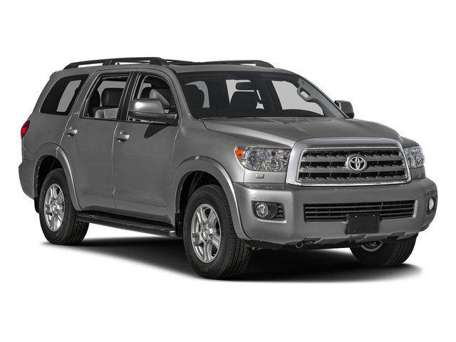 2016 Toyota Sequoia Prices and Values Utility 4D SR5 2WD V8 side front view
