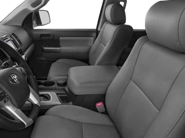 2016 Toyota Sequoia Prices and Values Utility 4D SR5 2WD V8 front seat interior