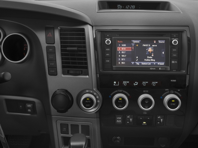 2016 Toyota Sequoia Prices and Values Utility 4D SR5 2WD V8 stereo system