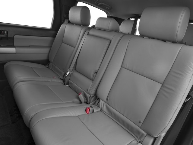 2016 Toyota Sequoia Prices and Values Utility 4D SR5 2WD V8 backseat interior