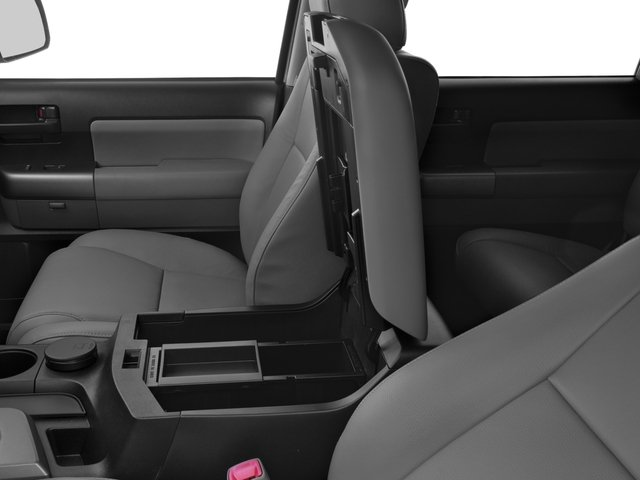 2016 Toyota Sequoia Prices and Values Utility 4D SR5 2WD V8 center storage console