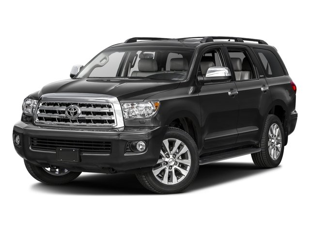2016 Toyota Sequoia Pictures Sequoia Utility 4D Platinum 4WD V8 photos side front view