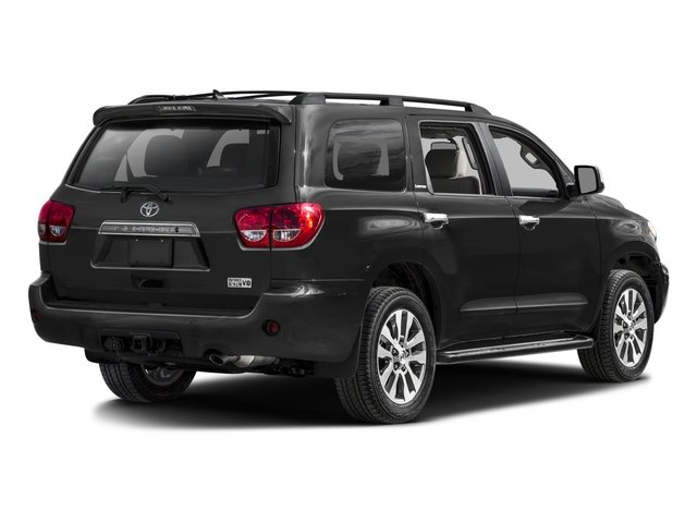 2016 Toyota Sequoia Prices and Values Utility 4D Limited 2WD V8 side rear view