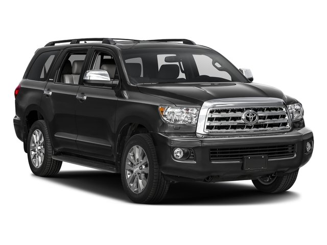 2016 Toyota Sequoia Prices and Values Utility 4D Limited 2WD V8 side front view