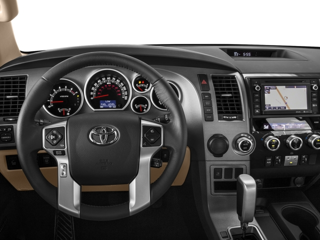 2016 Toyota Sequoia Pictures Sequoia Utility 4D Platinum 4WD V8 photos driver's dashboard