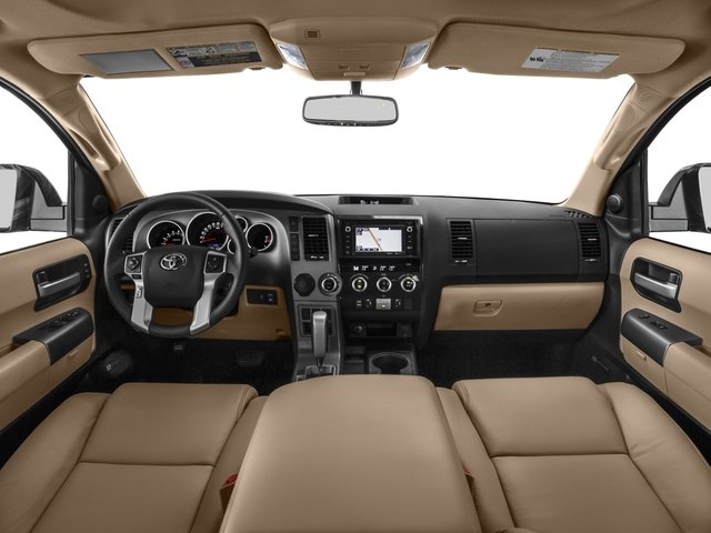 2016 Toyota Sequoia Prices and Values Utility 4D Limited 2WD V8 full dashboard