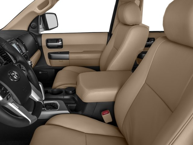 2016 Toyota Sequoia Prices and Values Utility 4D Limited 2WD V8 front seat interior