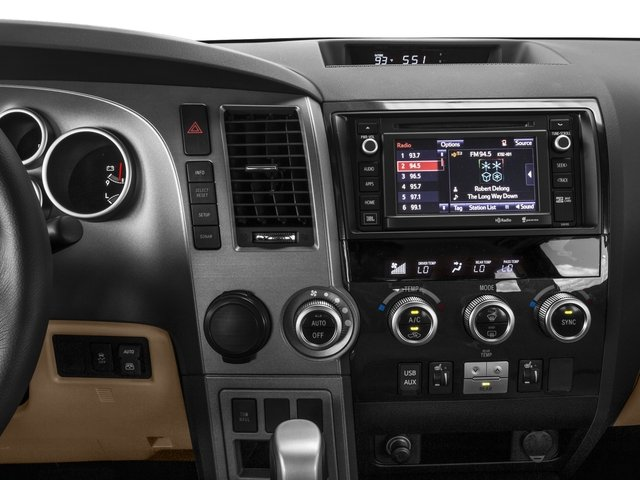 2016 Toyota Sequoia Prices and Values Utility 4D Limited 2WD V8 stereo system