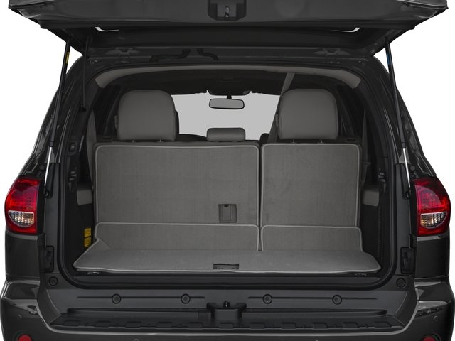 2016 Toyota Sequoia Prices and Values Utility 4D Limited 2WD V8 open trunk