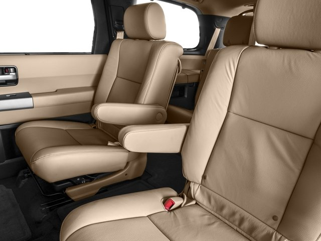 2016 Toyota Sequoia Prices and Values Utility 4D Limited 2WD V8 backseat interior