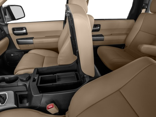 2016 Toyota Sequoia Prices and Values Utility 4D Limited 2WD V8 center storage console