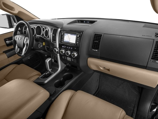 2016 Toyota Sequoia Prices and Values Utility 4D Limited 2WD V8 passenger's dashboard