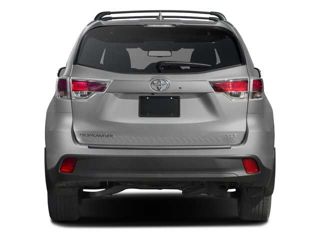 2016 Toyota Highlander Prices and Values Utility 4D XLE 4WD V6 rear view