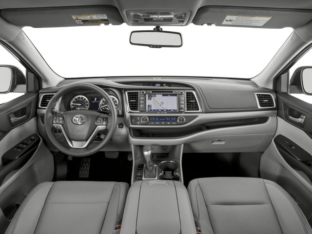 2016 Toyota Highlander Prices and Values Utility 4D XLE 4WD V6 full dashboard
