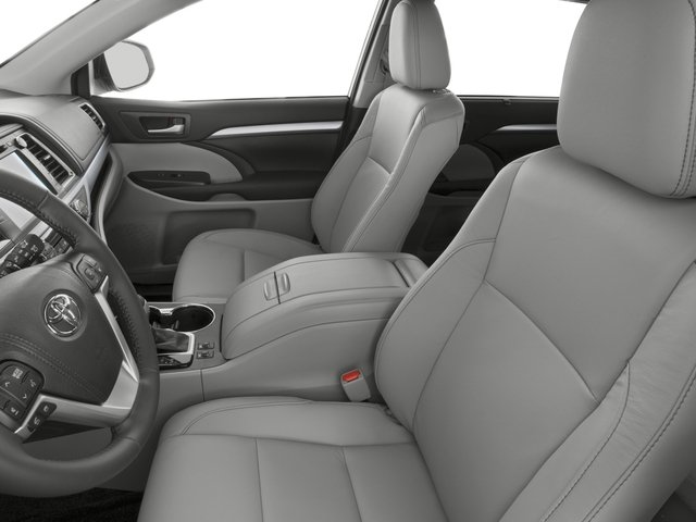 2016 Toyota Highlander Prices and Values Utility 4D XLE 4WD V6 front seat interior