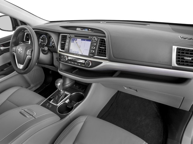 2016 Toyota Highlander Prices and Values Utility 4D XLE 4WD V6 passenger's dashboard
