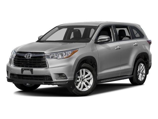 2016 Toyota Highlander Prices and Values Utility 4D LE 2WD I4