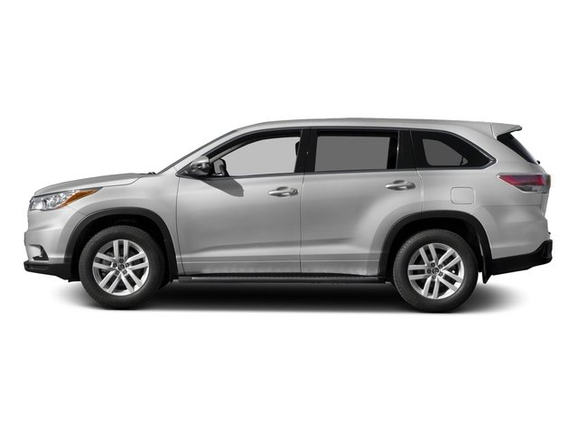 2016 Toyota Highlander Prices and Values Utility 4D LE 2WD I4 side view
