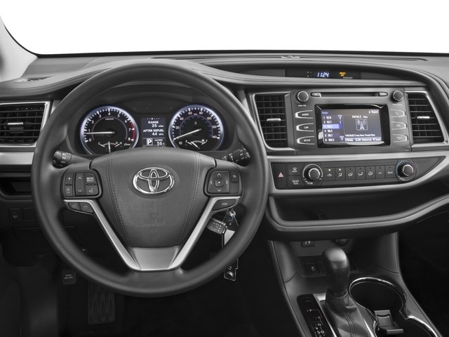 2016 Toyota Highlander Prices and Values Utility 4D LE 2WD I4 driver's dashboard