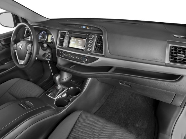 2016 Toyota Highlander Prices and Values Utility 4D LE 2WD I4 passenger's dashboard