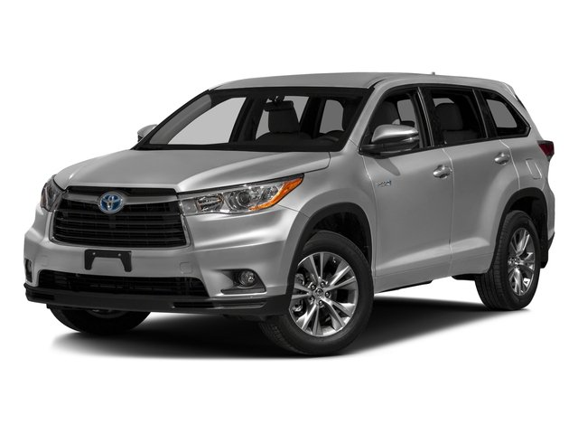2016 Toyota Highlander Hybrid Prices and Values Utility 4D Limited 4WD V6 Hybrid side front view