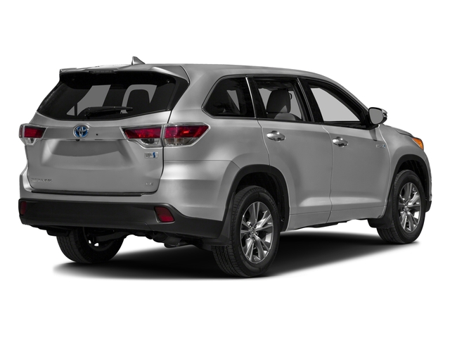 2016 Toyota Highlander Hybrid Prices and Values Utility 4D Limited 4WD V6 Hybrid side rear view