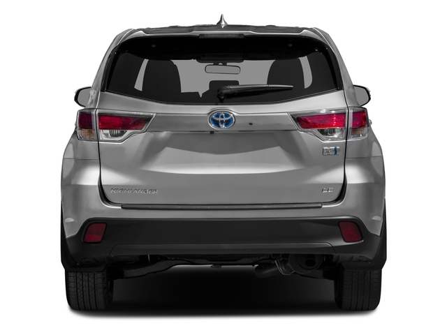 2016 Toyota Highlander Hybrid Prices and Values Utility 4D Limited 4WD V6 Hybrid rear view